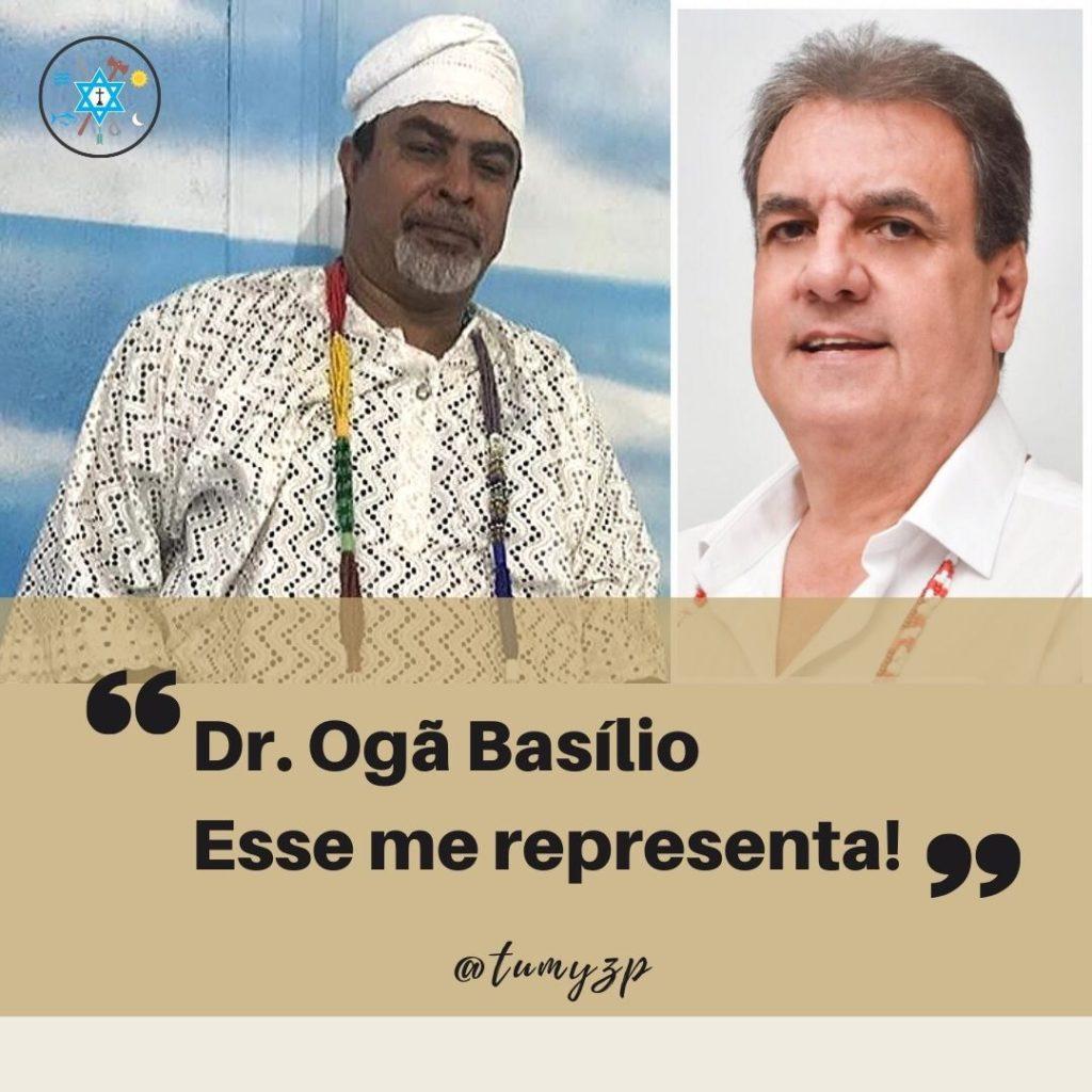 O Templo de Umbanda e Zé Pilintra de Campinas estamos juntos com Dr. OGÃ BASILIO nessa caminhada